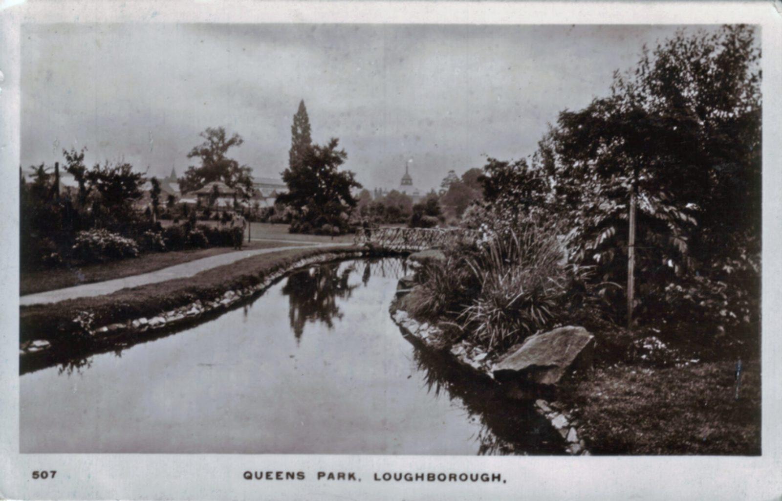 Queens Park, Loughborough. 1901-1920: