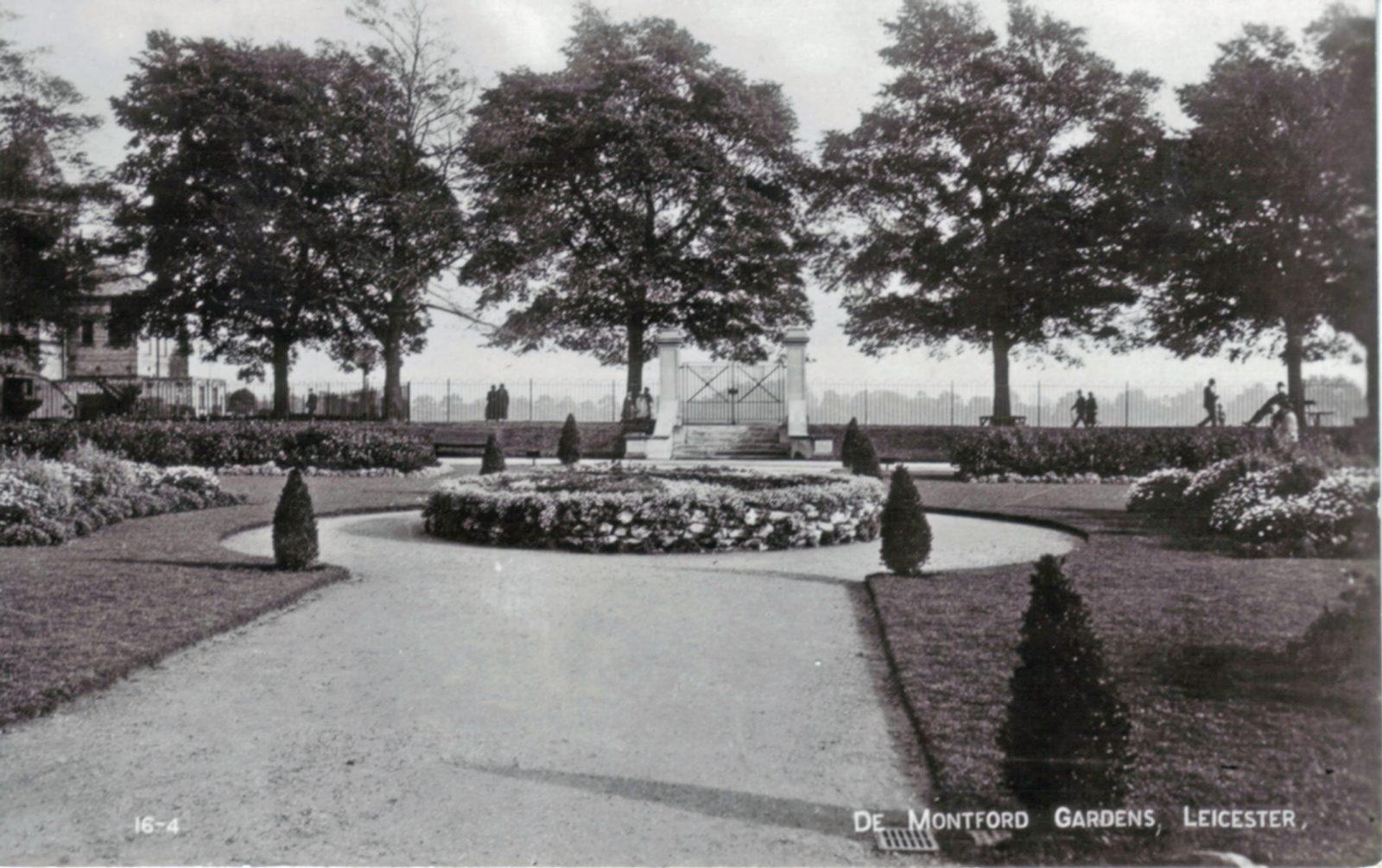 Victoria Park, Leicester. Undated: De Montfort gardens. (File:1231)